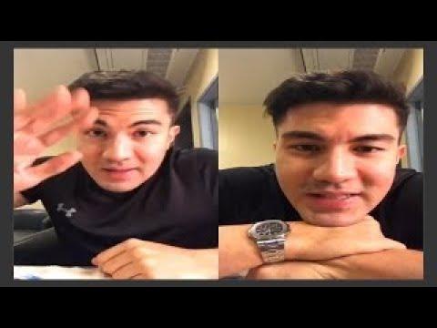 LUIS MANZANO Biglang nagulat at napa-isip sa kanyang nabasa_How old is your SON?Panoorin