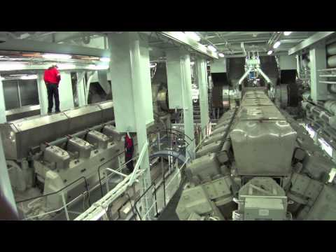 Allure of the Seas Engine Room [HQ]