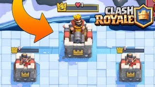 EVERY TOWER AT 1 HP! HOW DID THEY DO THIS IN CLASH ROYALE!?