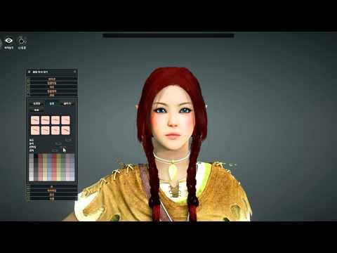 Black Desert Online 2nd Beta Archer Customization HD