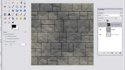 how make textures for games? (stone tile)