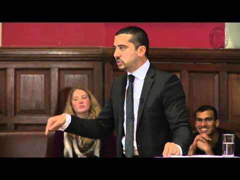 Islam Is A Peaceful Religion at Oxford Union