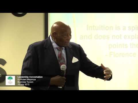 Dr Richard Maponya, Businessman  – Regenesys Leadership Conversation