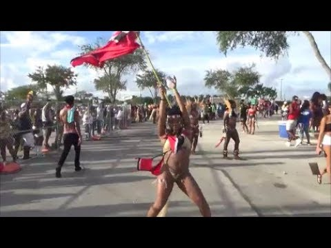MIAMI WEST INDIAN PARADE CARNIVAL 2018 - CARIBBEAN ISLANDS WEST INDIAN GIRLS CARNIVAL PARTY