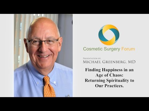 Dr. Michael Greenberg's Presentation at Cosmetic Surgery Forum 2015