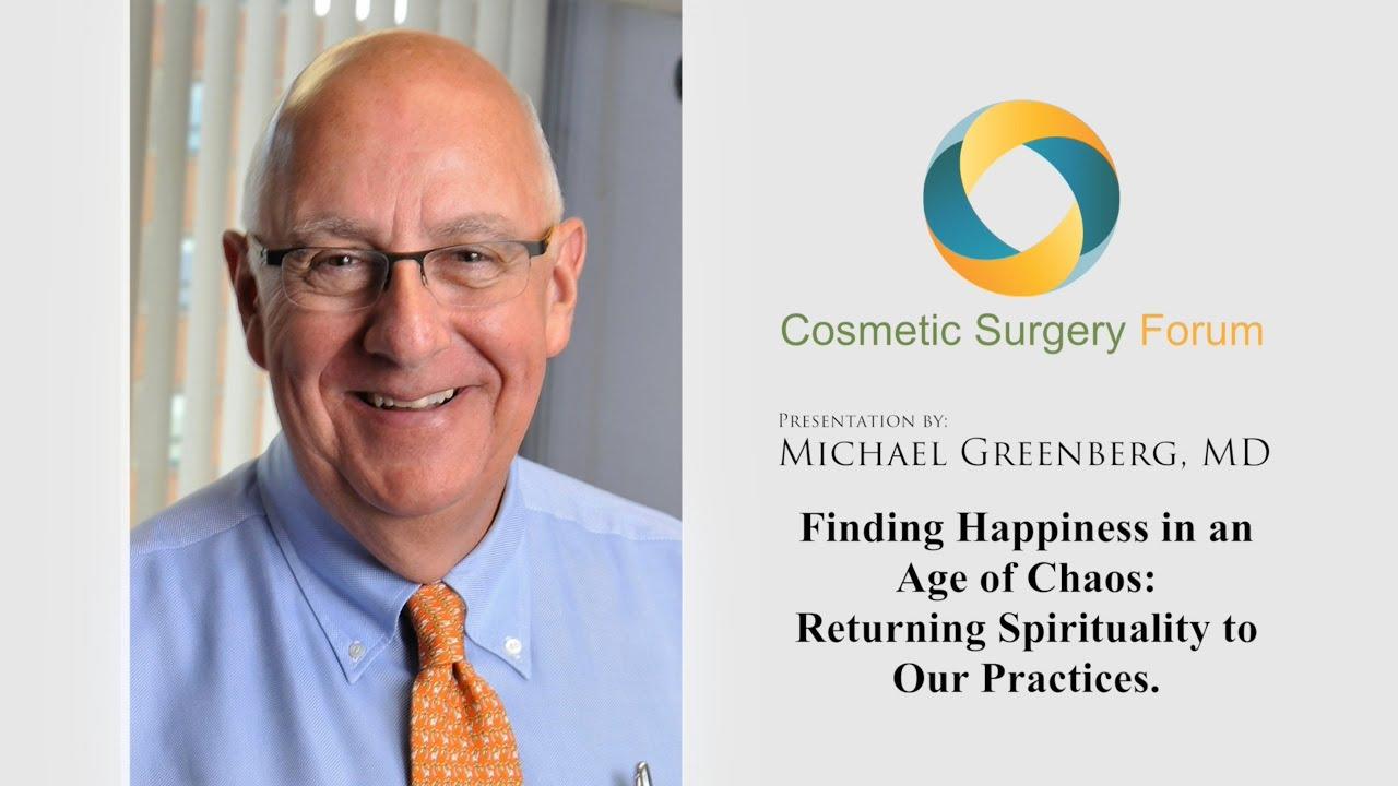 dr michael greenberg s presentation at cosmetic surgery forum dr michael greenberg s presentation at cosmetic surgery forum 2015