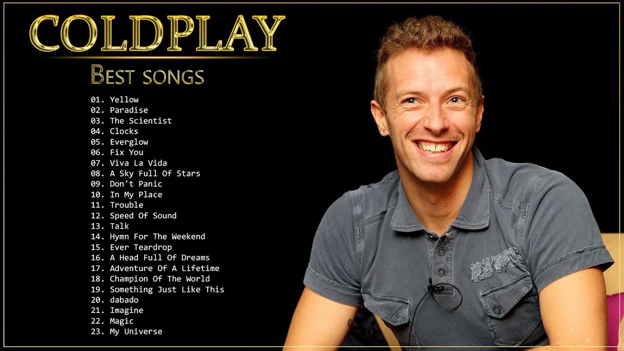 Coldplay Best Songs Coldplay Greatest Hits Playlist Álbum completo Melhores músicas do Coldpla 2022