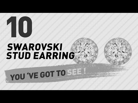 Swarovski Stud Earring Top 10 Collection // UK New & Popular 2017