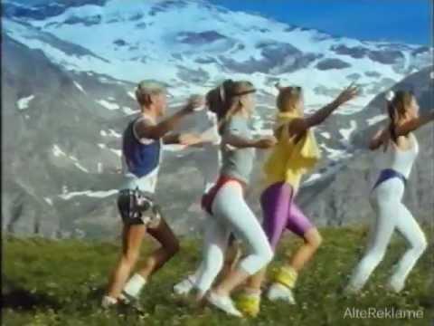 Milka Lila Pause Werbung 1991