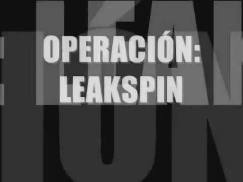 Operación Leakspin: Presentación.