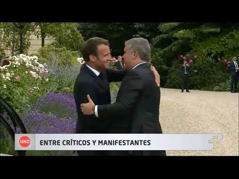 Durante su visita a Europa, el presidente Duque recibió críticas parlamentarias en Londres y París