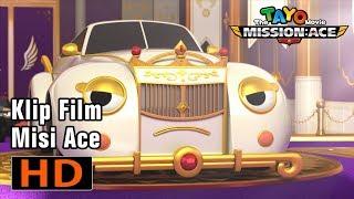 Tayo Misi Ace l Tayo bertemu dengan ratu mobil! l Film kartun untuk anak-anak l Tayo bus kecil