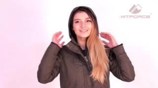 Куртка парка демисезонная женская ПИСК сезона 16099 от MTFORCE