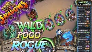 Wild Pogo Rogue Deck   Rise of Shadows   Hearthstone