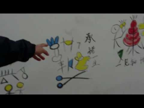 Ancient Naxi writings and culture.