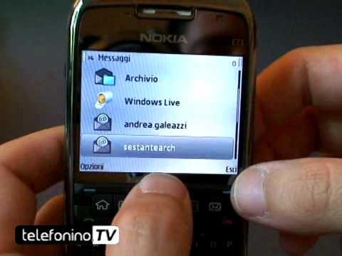 Nokia E71 part1 videoreview da telefonino.net