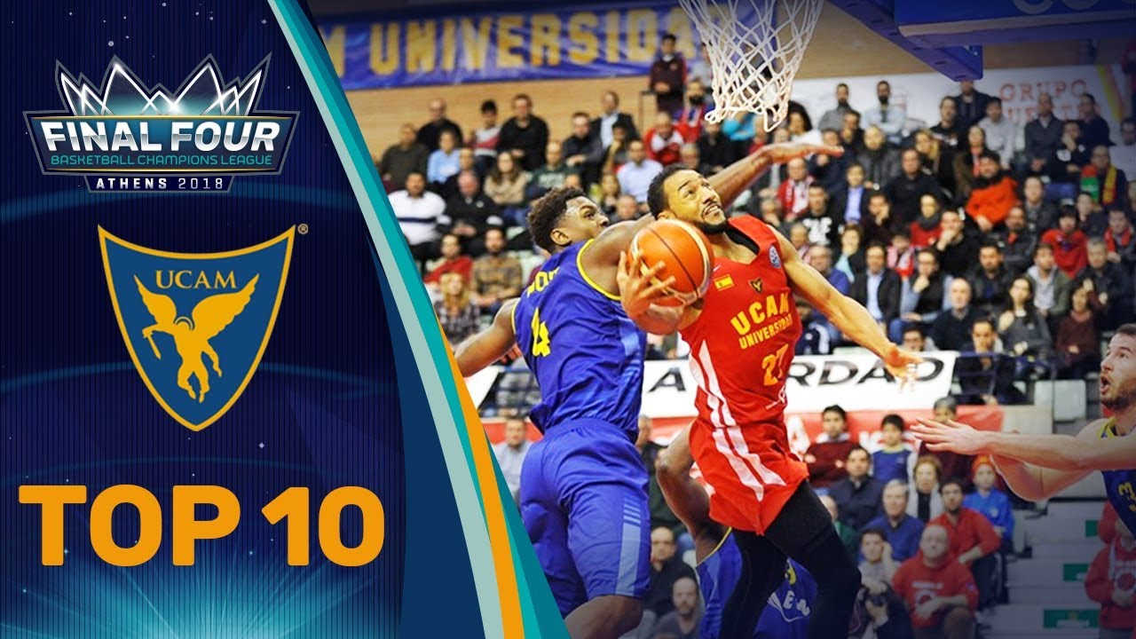 UCAM Murcia - Top 10 Plays - Basketball Champions League 2017
