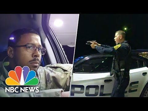 WATCH-Police-Pull-Guns-On-Afro-Latino-Army-officer-In-Traffic-Stop-NBC-News