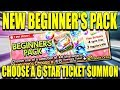 2x 5 star Tickets and Beginners Choose a 6 star Summons! Bleach Brave Souls