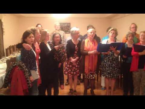 Dutch Choir 'Groung'  - Singing In Armenian Yerevan Yerepouni