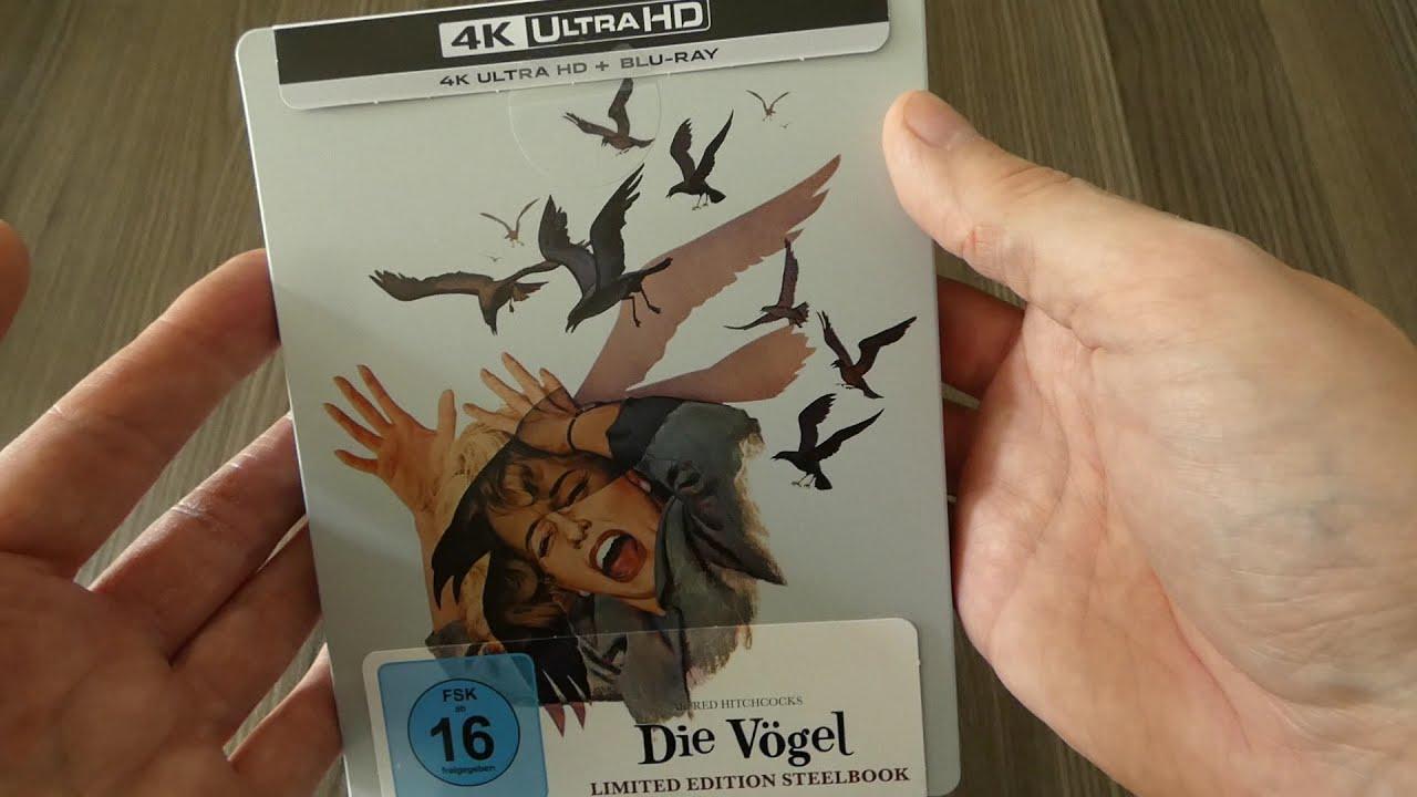 Download NEW 🐦 Die Vögel / The Birds (1963) 4K UHD limited steelbook Germany