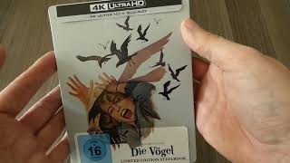 NEW 🐦 Die Vögel / The Birds (1963) 4K UHD Limited Steelbook Germany