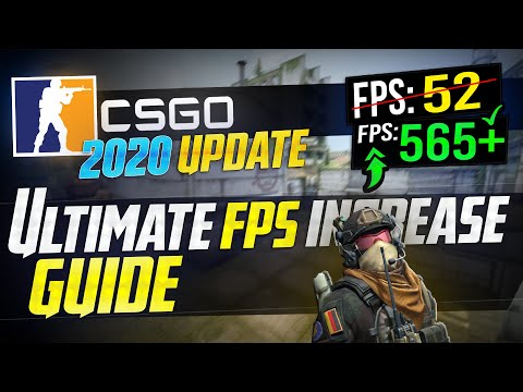 🔧 CSGO: Dramatically Increase Performance / FPS With Any Setup! 2020 UPDATE