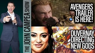 AVENGERS: INFINITY WAR Trailer IS HERE! - The John Campea Show