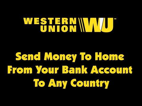 Western Union Online Money Transfer Youtube