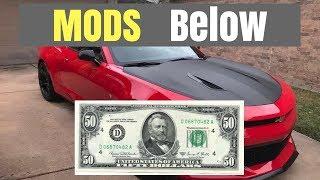 CAMARO MODS UNDER $50.00!