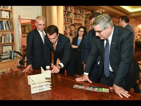 Senatori Luciano D'Alfonso në Tiranë, Veliaj: Mezi pres që të përparojmë me investimet italiane
