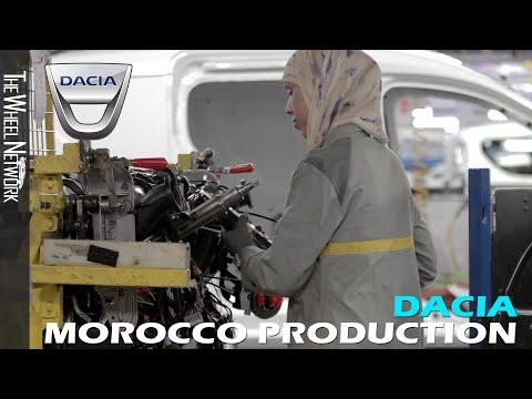 Dacia Production in Morocco