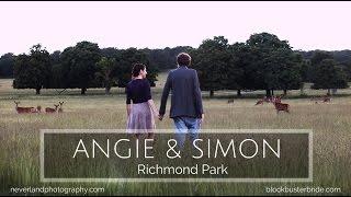 Beautiful bespoke ballads and slideshows for weddings - Blockbuster Bride - Richmond Park