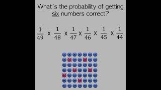 Lottery Maths | #1minutemaths | Mathematigals