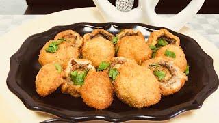 Böyle mantar hiç denedinizmi/çok değişik yapımıyla çok lezzetli mantar kızartması/kolay ve lezzetli