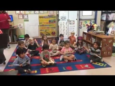 Hello from the AJCC preschool!