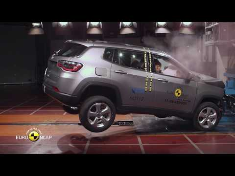 India Made Jeep Compass Gets A 5 Star Safety Rating In Europe