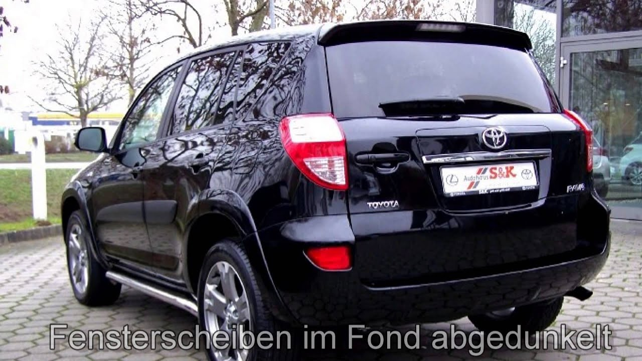 toyota rav 4 2 2 d 4d 4x4 executive 021743 onyxschwarz autohaus s k hamburg harburg youtube. Black Bedroom Furniture Sets. Home Design Ideas
