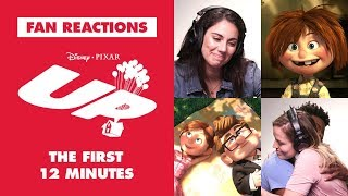 Disney Fans React to the First 12 Minutes of Up | Oh My Disney