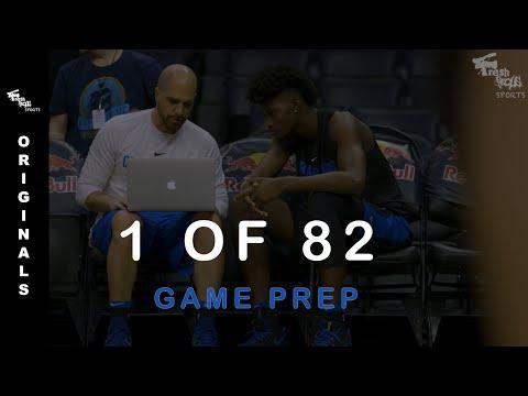 1 of 82: GAME PREP (Orlando Magic)