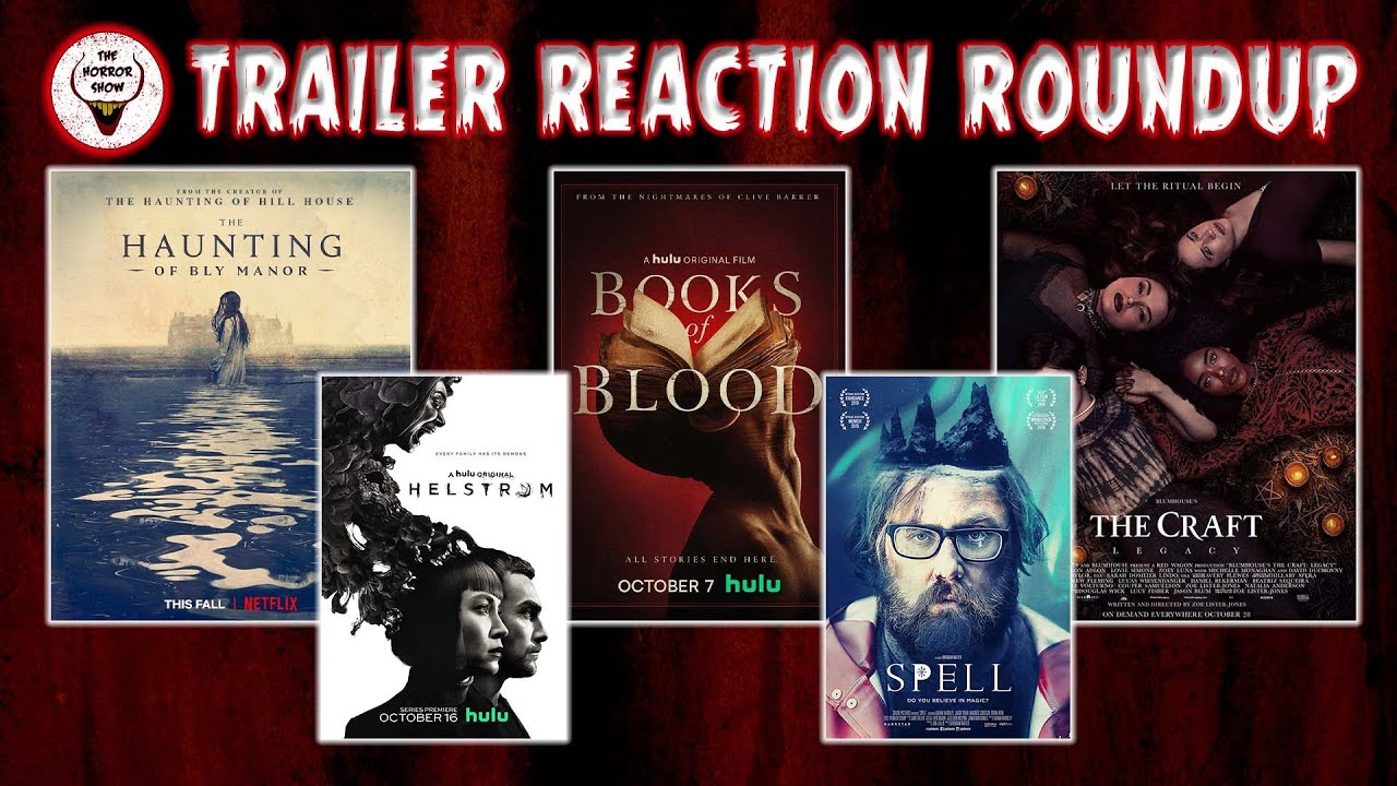 Trailer Reaction Roundup The Craft Legacy Spell Books Of Blood Helstrom Haunting Of Bly Manor Youtube