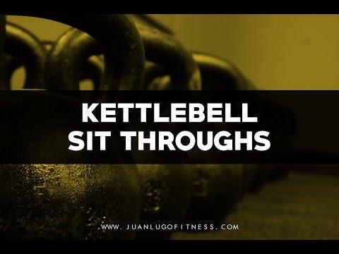 Kettlebell Sit Through