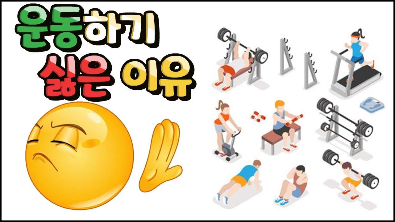 다이어트 하면서 운동하기 싫은 이유