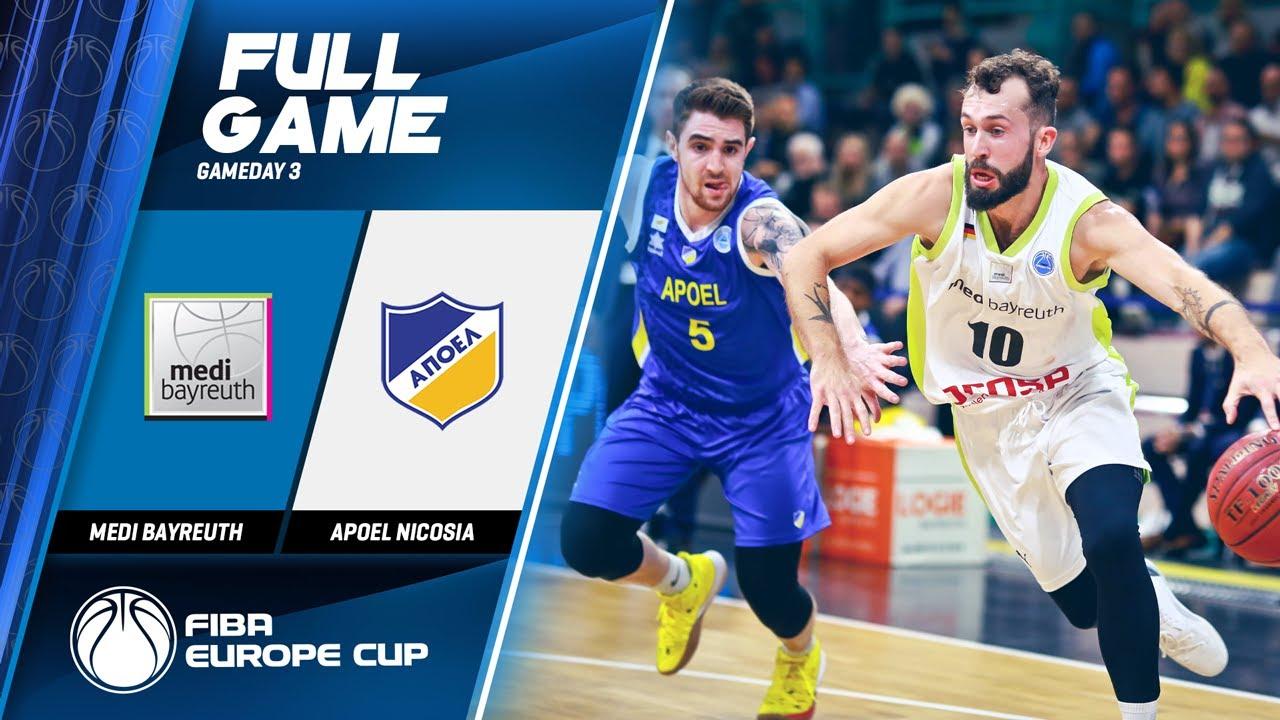 medi Bayreuth v Apoel Nicosia - Full Game - FIBA Europe Cup 2019
