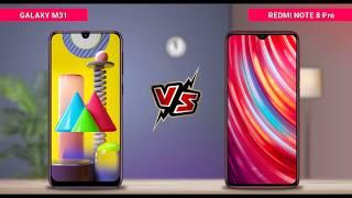 Samsung Galaxy M31 vs Redmi Note 8 Pro || Full Comparison || Which is Best.