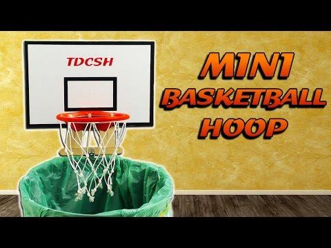 MINI BASKETBALL HOOP - OFFICE TOY