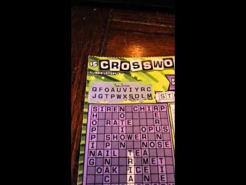 IL lotto crosswords decent wins