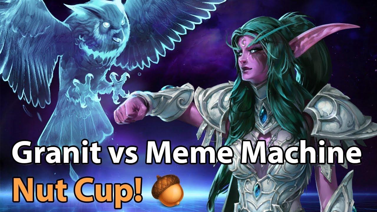 ► Heroes of the Storm: Granit Gaming vs. Meme Machine - Nut Cup
