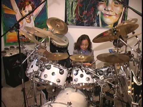 "6 Year Old Drummer Julian Pavone - Plays Justin Bieber's ""Baby"""