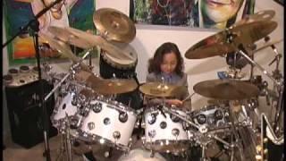 6 year old drummer julian pavone plays justin bieber s baby